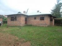 3 BEDROOM UNFINISHED BUNGALOW - RIAT UKWELI