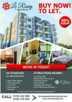 Le Rossy apartments,Buy now!To let!